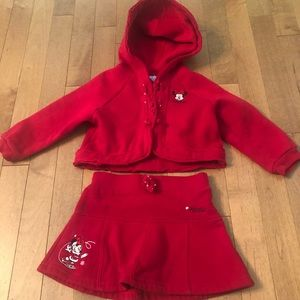 2 piece Minnie Mouse 24-Month Outfit